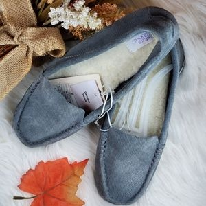 Genuine Suede Moccasin Slippers